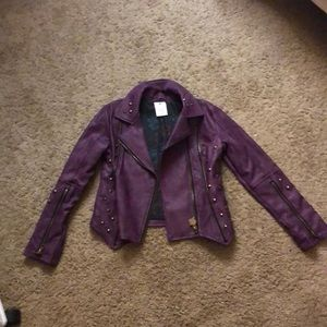Mal from descendants leather jacket